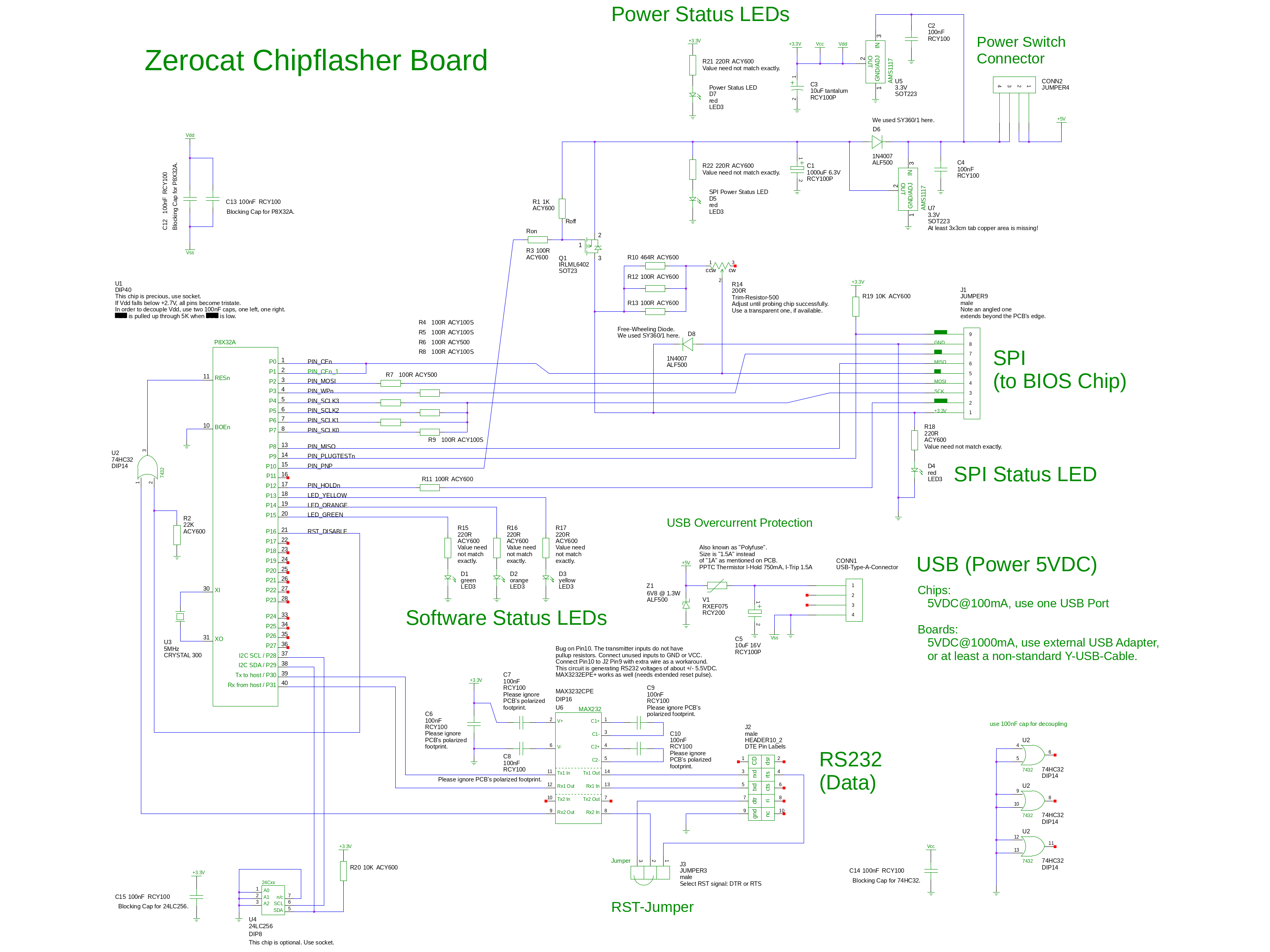 Chipflasher Schematics